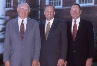 Presidents Danieley, Lambert, Young