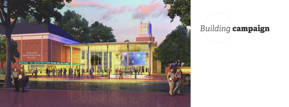 New Communications building rendering