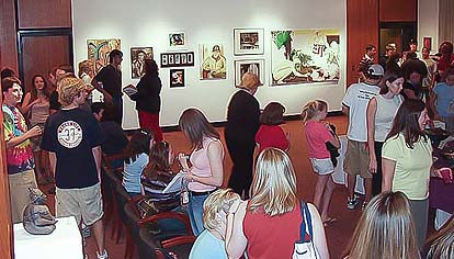 2003 Student Juried Exhibition Reception