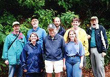 Environmental Studies Faculty Group Shot