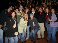 Group at tree lighting