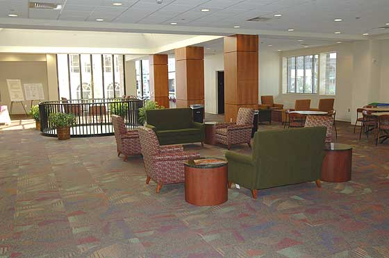 Elon School of Law lounge
