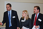 Law students present preliminary motions in mock Evidence course trial