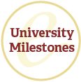 University Milestones