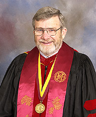 John G. Sullivan, Distinguished University Professor, 2002