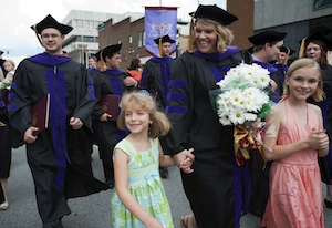 Class of 2010 commencement processional