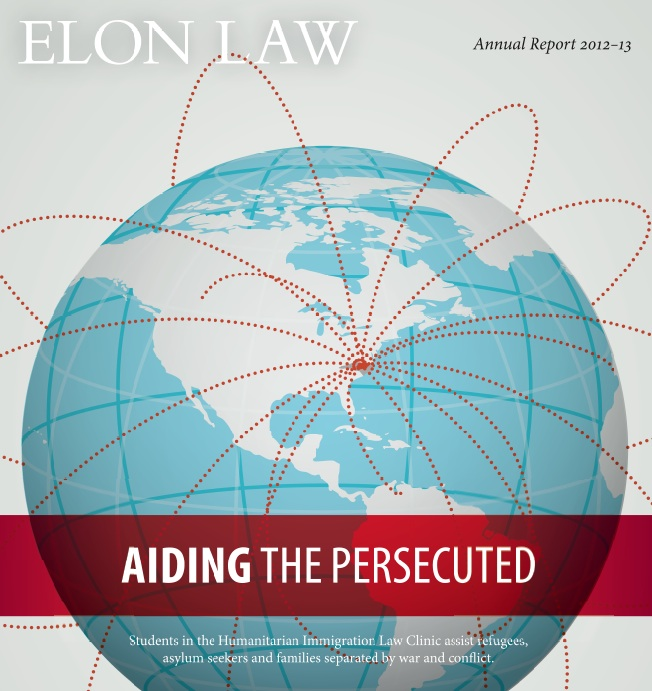 Cover are for Elon Law 2013 annual report