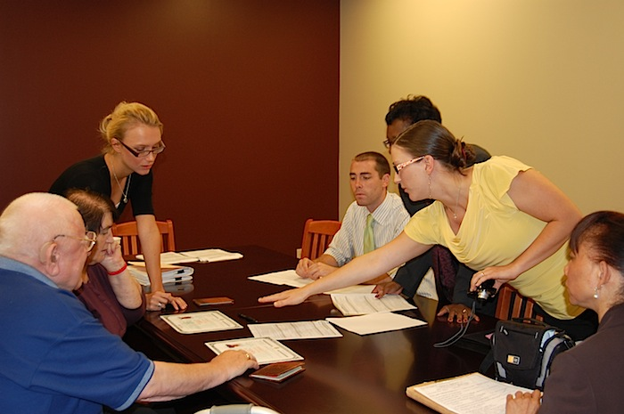 Elon Law students and faculty assist clients of the Humanitarian Immigration Law Clinic