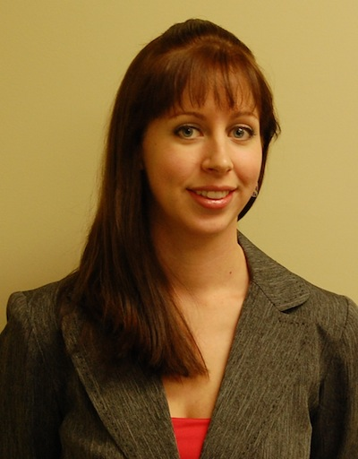 Meredith DiMattina the Clinic Paralegal for the Humanitiarian Immigration Law Clinic