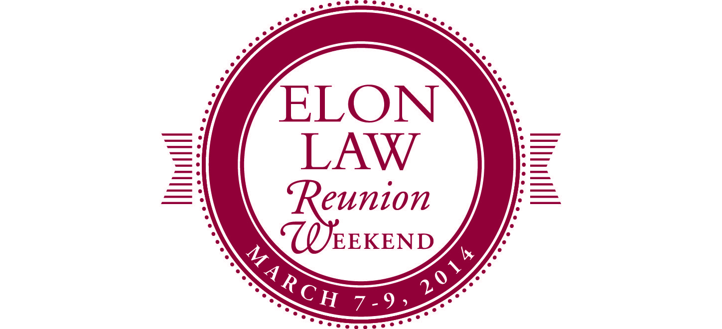 Elon Law Reunion Weekend logo