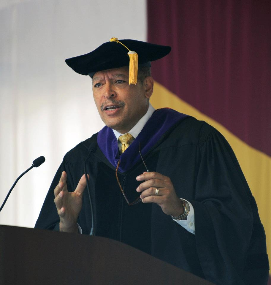 Judge Wynn speaks at Elon Law's 2012 Commencement Exercises