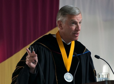 UNC Pres. Tom Ross at Elon Law commencement 2014