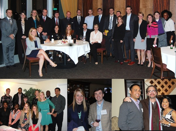 Elon Law alumni at annual receptions around the state and country