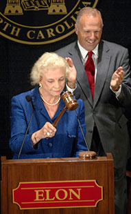 Sandra Day O'Connor dedicates law school