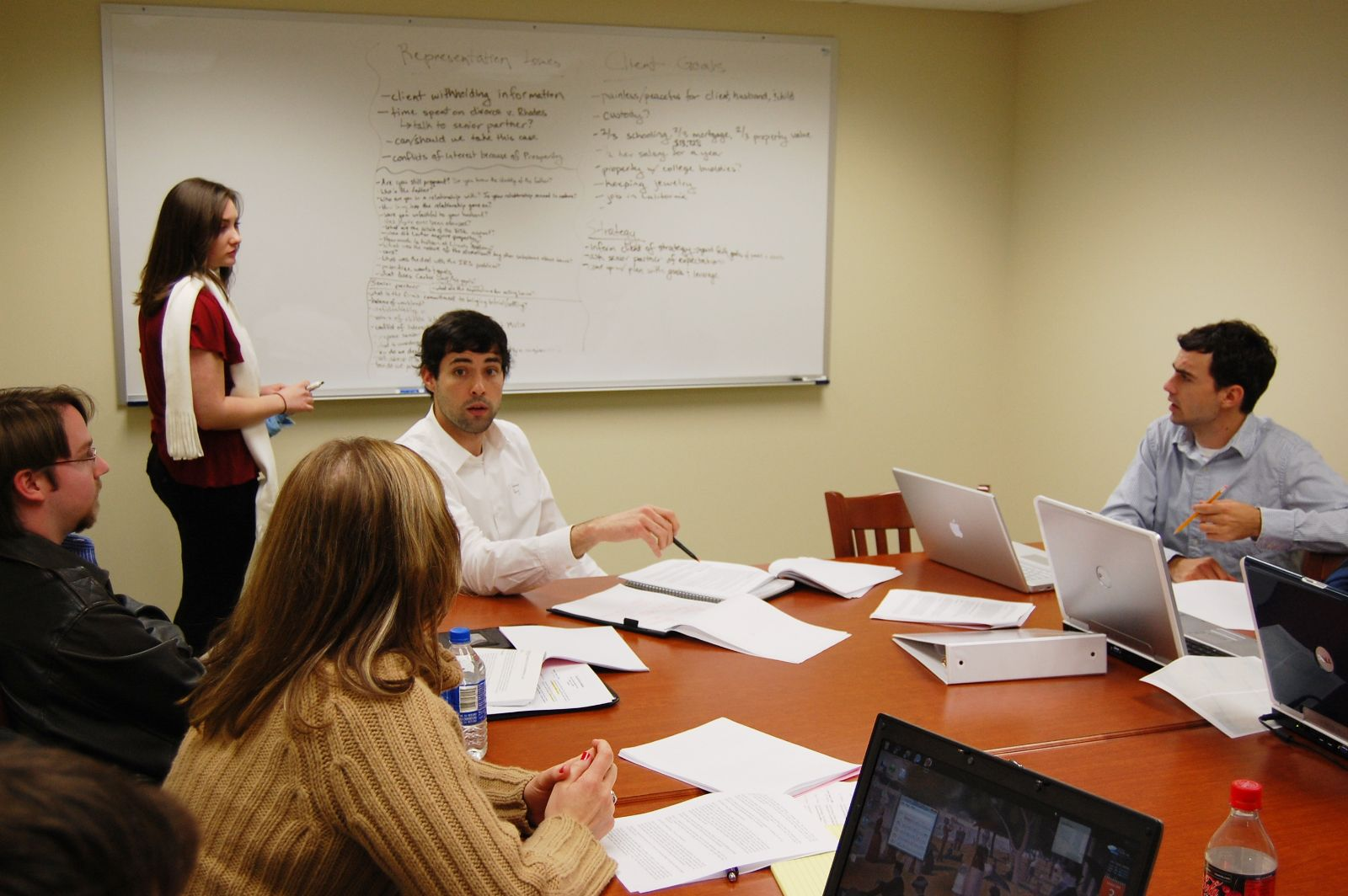 Elon Law students engage in teamwork