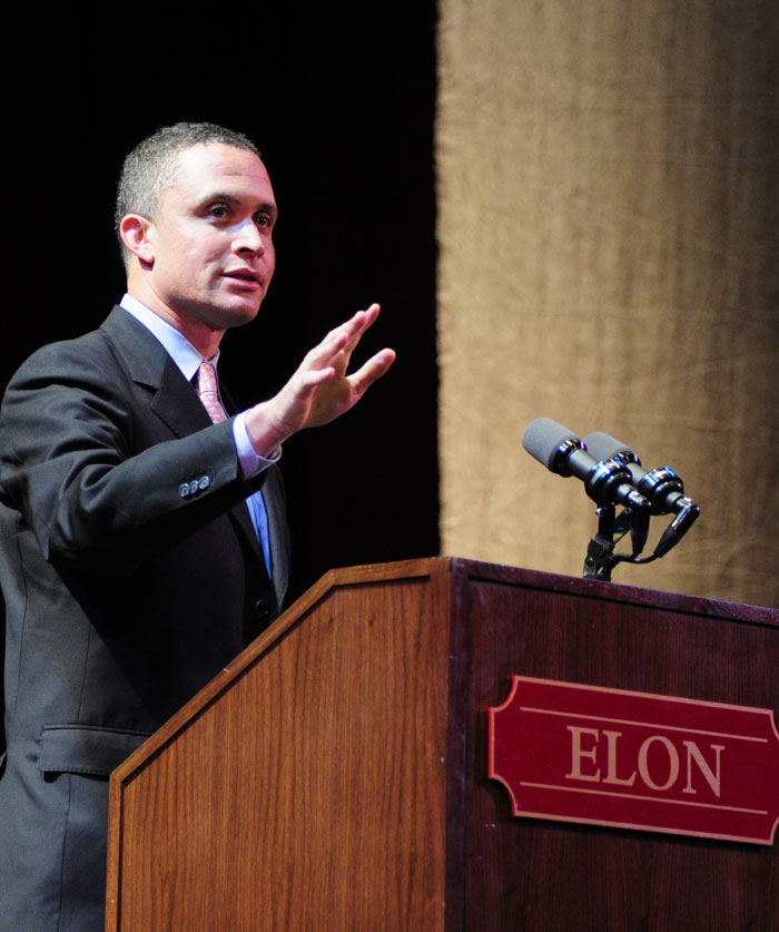 Harold Ford Jr. at Elon Law