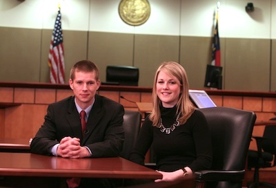 Two Elon Law students in N.C. Business Court