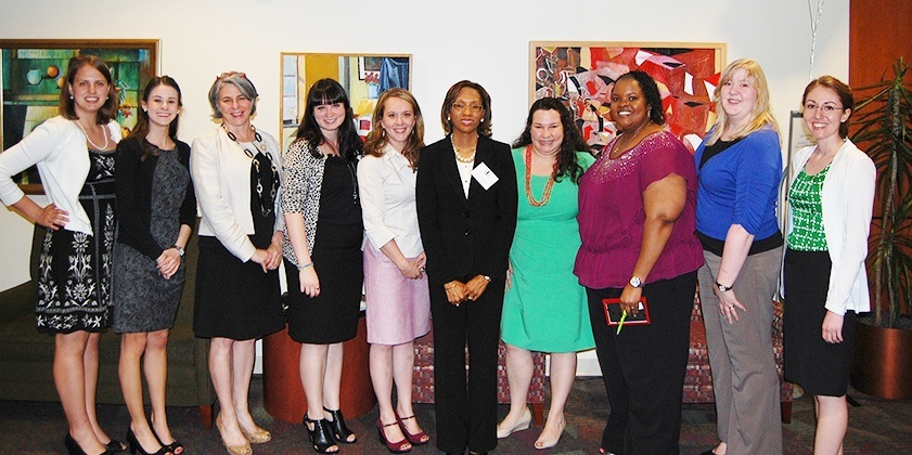 Women's Law Association group photo