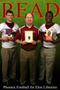 Coach Lembo, AJ Harris and Josh Jones
