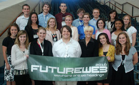 FutureWeb student journalism team