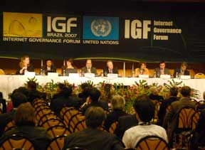 IGF Rio main hall photo