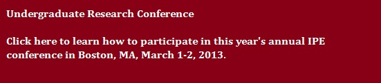 Undergraduate Conference Information