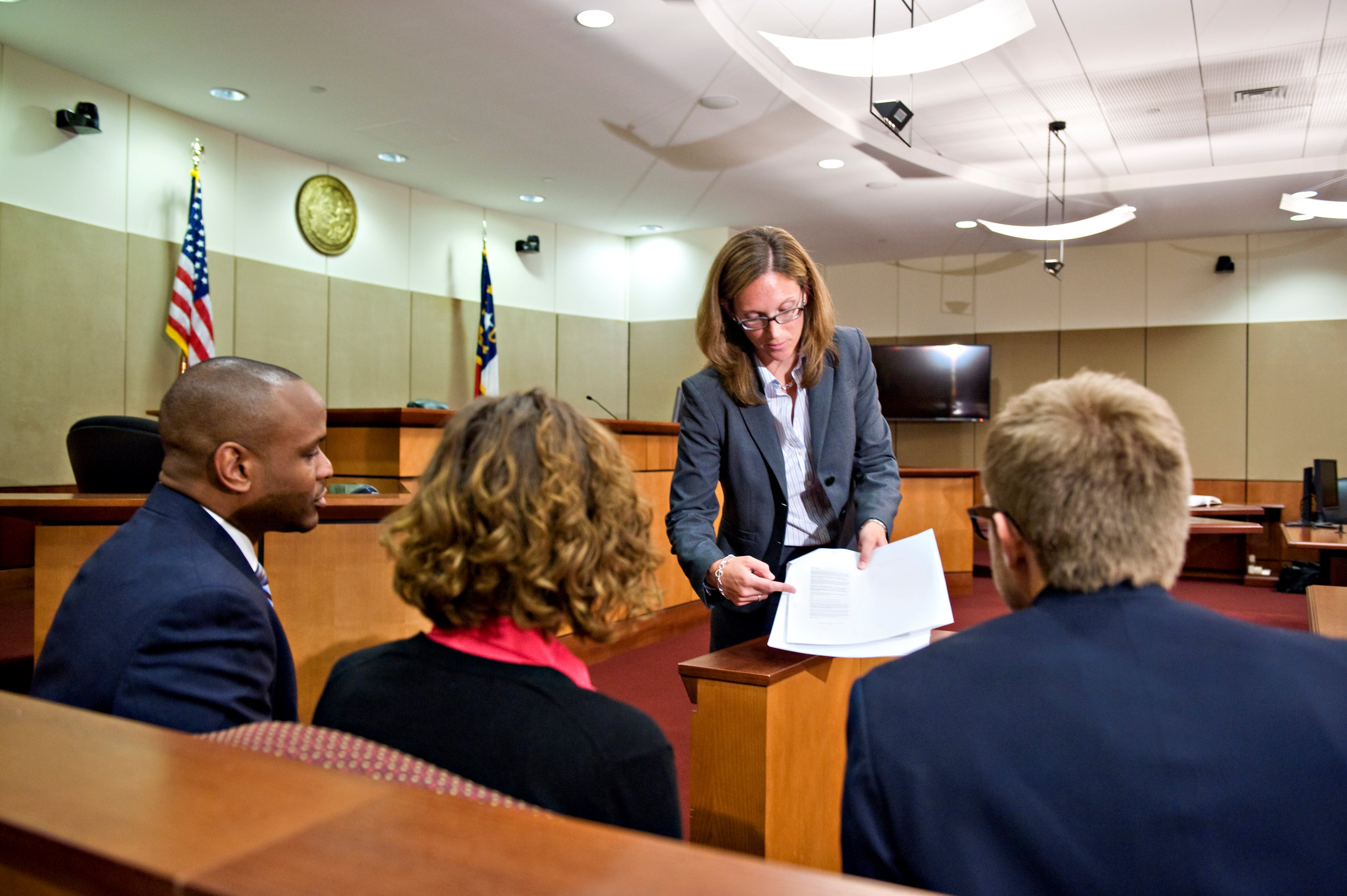 Elon Law students engage in trial practice
