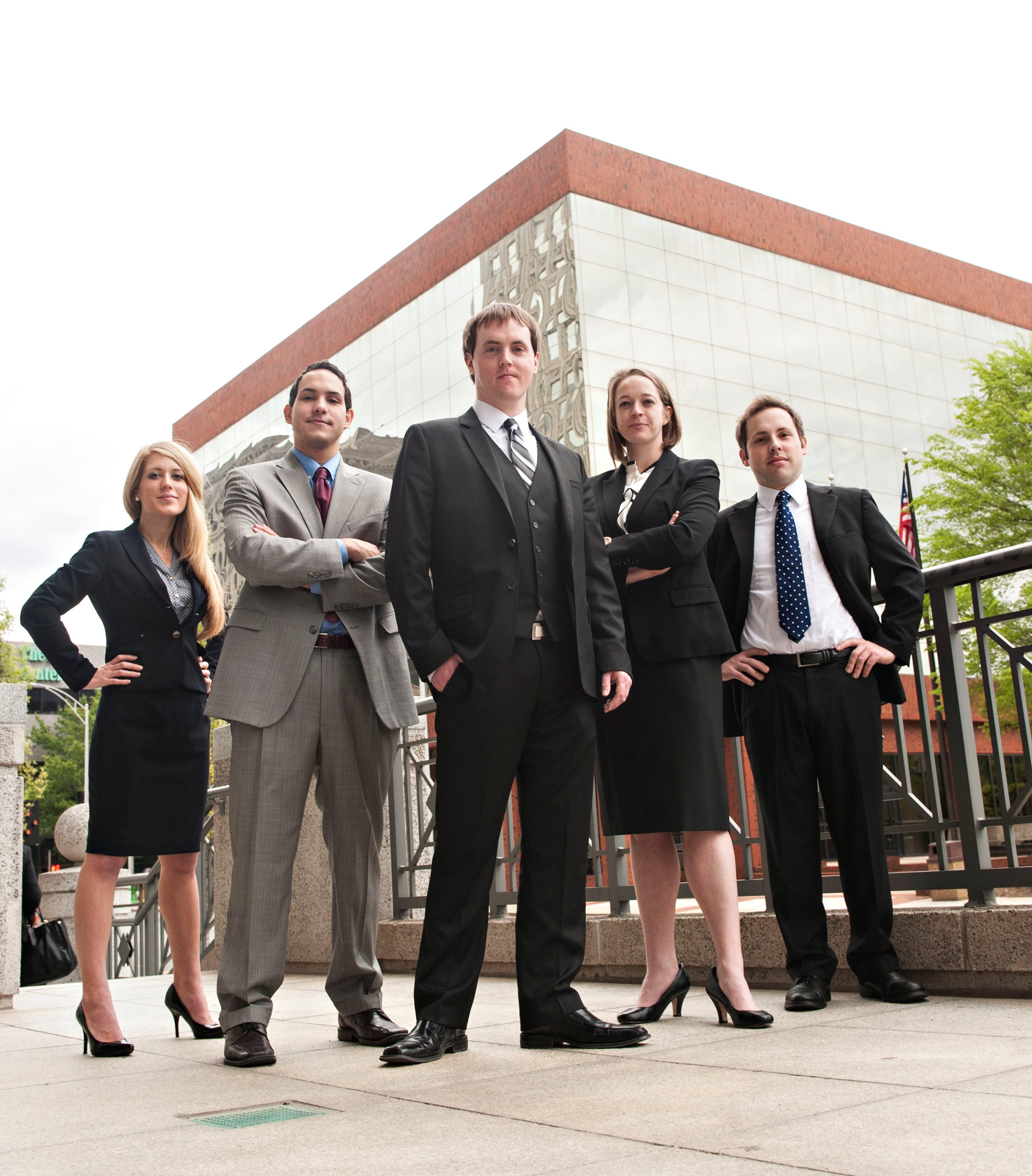 Small Business and Entrepreneurship Clinic student team