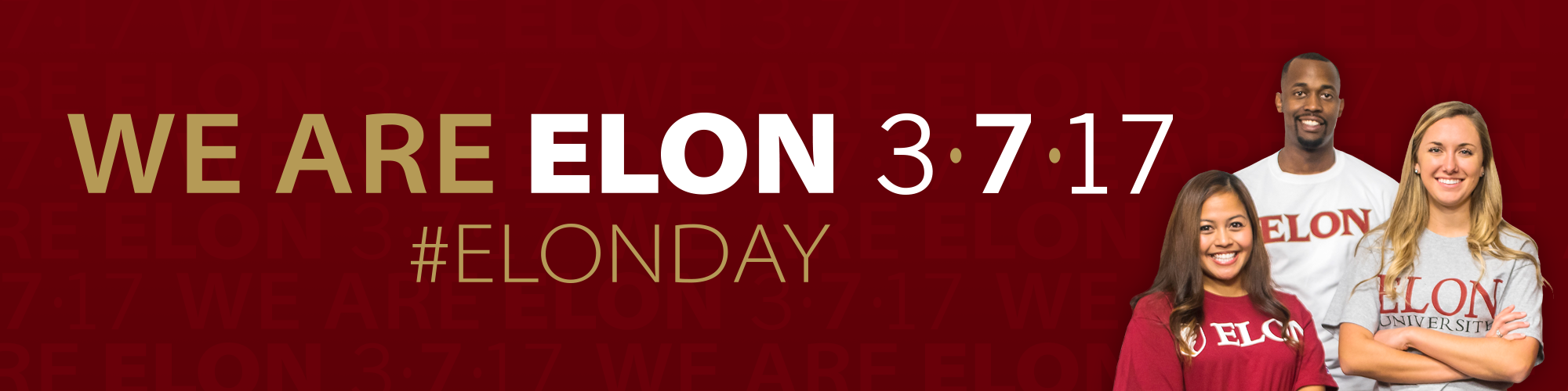 We Are Elon 3-7-17 #ElonDay