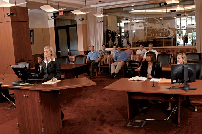 Elon Law students participate in moot court