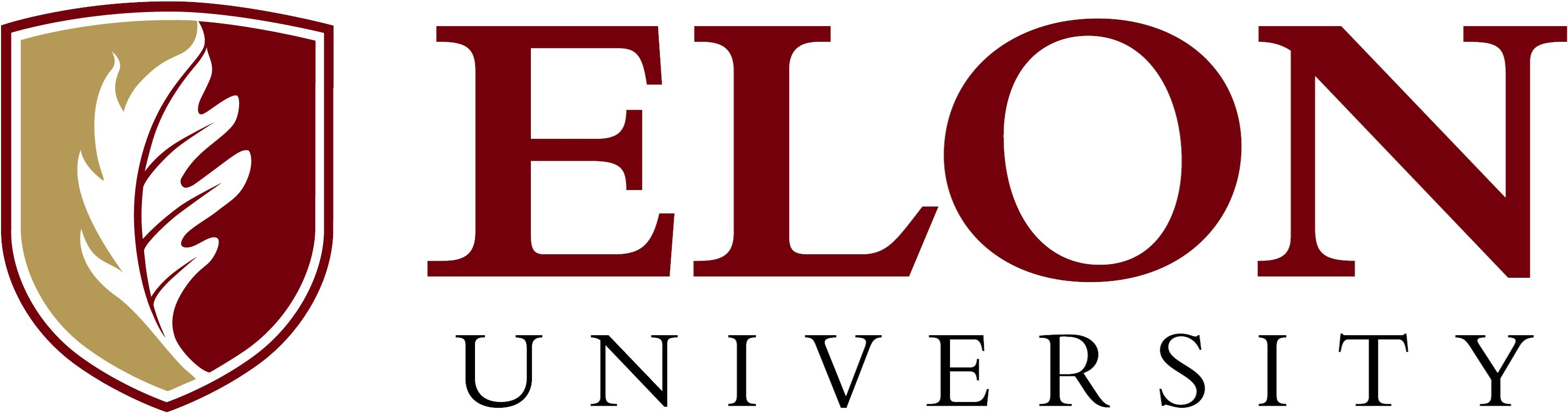 Elon University primary signature example