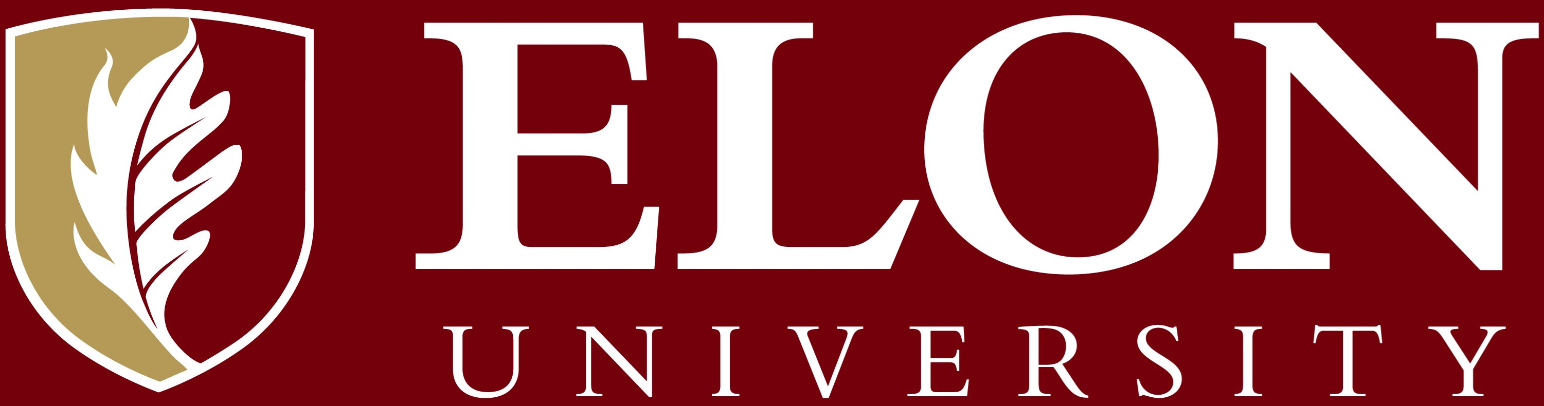 Elon University primary signature reversed example