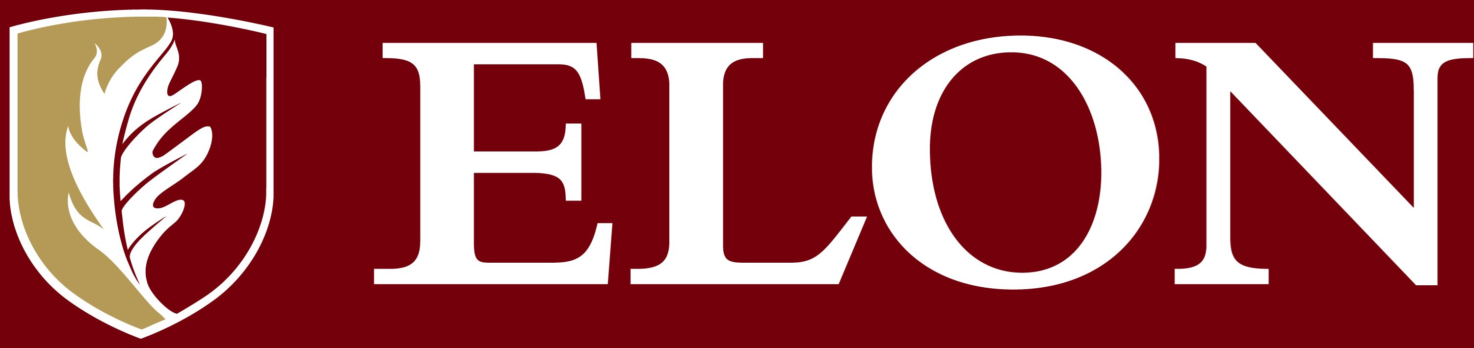 Elon University secondary signature example