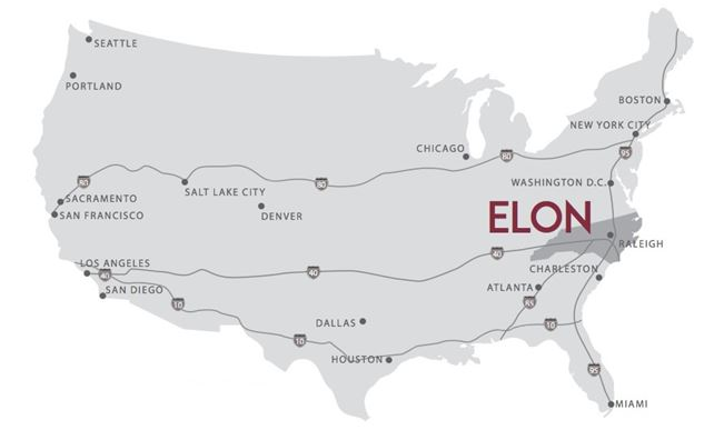 Elon University Admissions International Admissions About - Where is atlanta